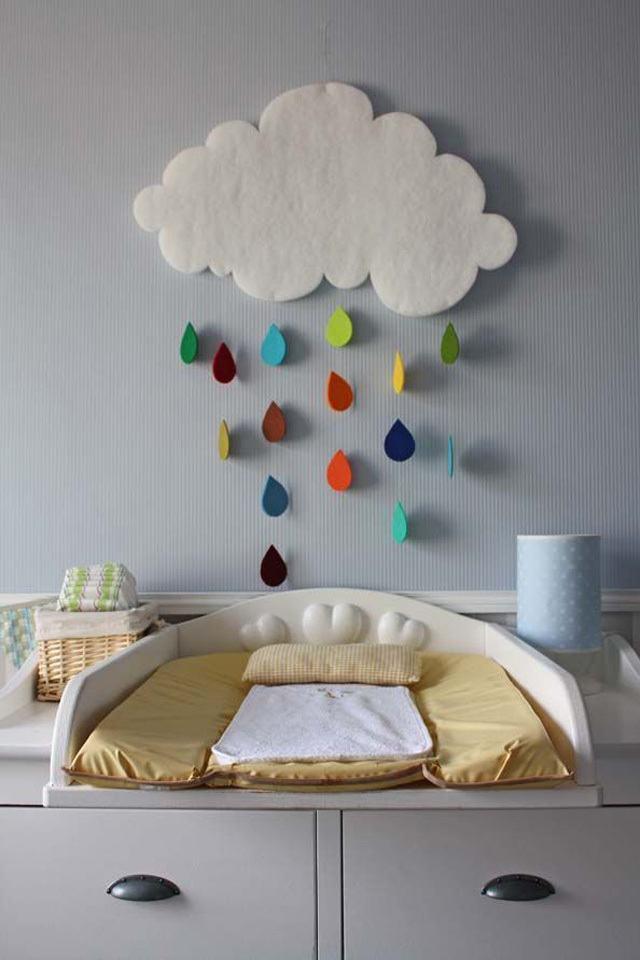 أعمال يدويه لتزيين غرفه طفلك