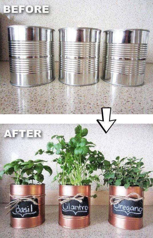 افكار لإعادة التدوير