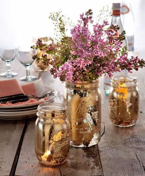 اعادة استخدام البرطمانات الزجاج