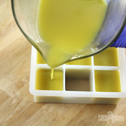 كيفة عمل صابون زيت الزيتون