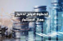 الاستثمار